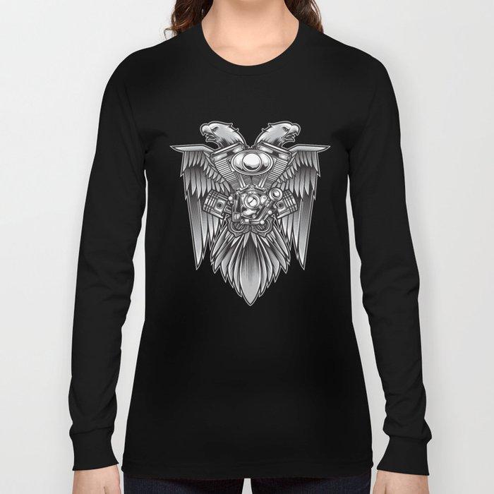 Eagle & Motorsport Long Sleeve T-shirt