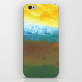 Abstract Landcape iPhone Skin
