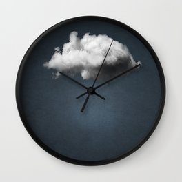 WAITING MAGRITTE Wall Clock