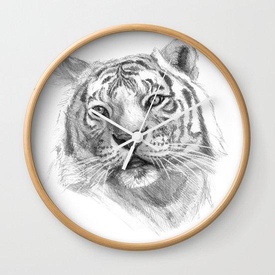 Sentimental Tiger SK118 Wall Clock
