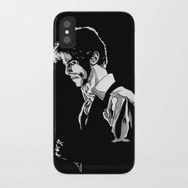 Thin White Duke iPhone Case
