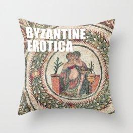 BYZANTINE EROTICA Throw Pillow