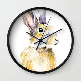 Hare Bunny Wall Clock