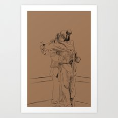 After the Match Art Print
