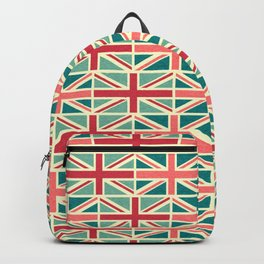 British/UK Flag Pattern Backpack