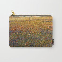 Georges Seurat Alfalfa Fields in Saint Denis Carry-All Pouch