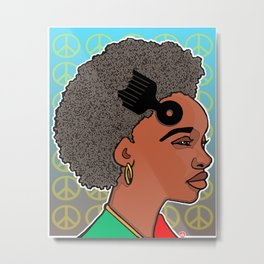 RLOVEUTIONARY FROS Metal Print