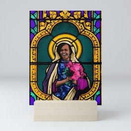Michelle Obama: Patron Saint of Becoming Mini Art Print