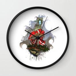 Recycled fairytale Wall Clock