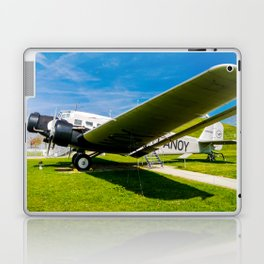 Lufthansa YU 52 Airport Munich Laptop & iPad Skin