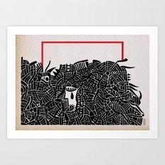 - migrants - Art Print