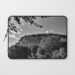rock cliff at lim channel fjord istria croatia europe black white Laptop Sleeve