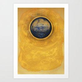 Somewhere in the Sun Art Print