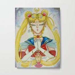 Holy Sailor Moon Metal Print