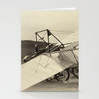 airplane Stationery Cards featuring Airplane by DistinctyDesign