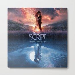 the script sunsets full moons tour 2020 muncrat Metal Print