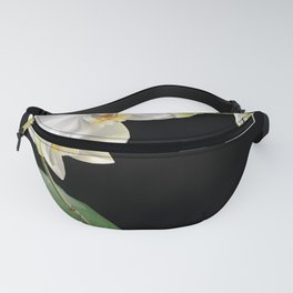 White orchid Fanny Pack