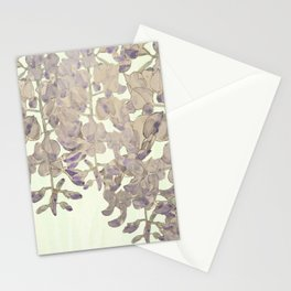 Wisteria - a thing of beauty is a joy forever Stationery Cards
