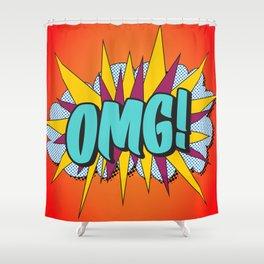 OMG! Shower Curtain