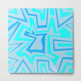 Ice Banded - Coral Reef Series 009 Metal Print