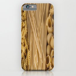Different kind of pasta iPhone Case