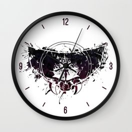 Inked Parasite Wall Clock