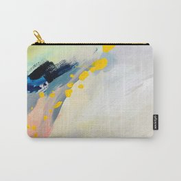 Returning III, Detail 03 Abstract Painting Canvas Carry-All Pouch