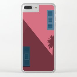 Postcard fom Italy Clear iPhone Case