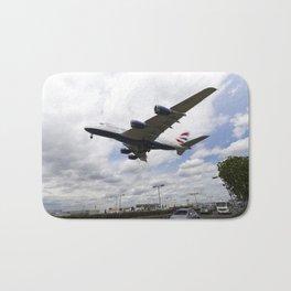 British Airways A380 Heathrow Airport Bath Mat