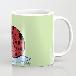 Ladybug Snail Coffee Mug