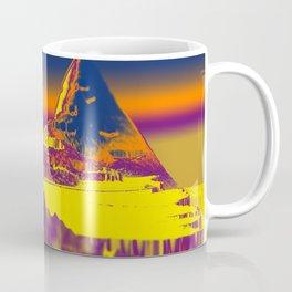 Mountain landscape colorful illustration painting Coffee Mug