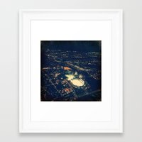 ohio state Framed Art Prints featuring Ohio State by Alisha Williams