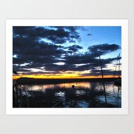 Block Island Sunrise Art Print