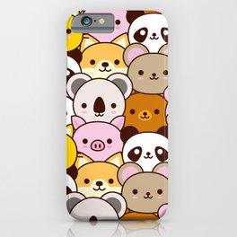 Cute baby animals  iPhone Case