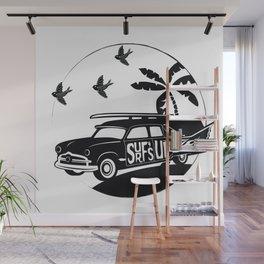 Goth Surf Wall Mural