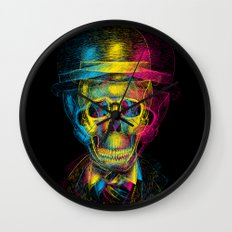 Worked to Death Wall Clock