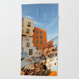 The Ray and Maria Stata Center Beach Towel