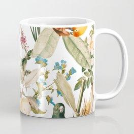 Floral and Birds XXXII Coffee Mug