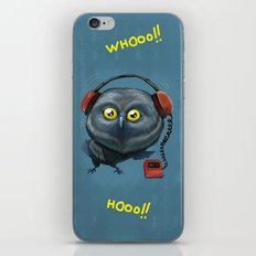 Hooting lesson iPhone & iPod Skin