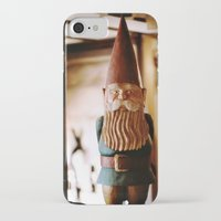 gnome iPhone & iPod Cases featuring A Gnome  by Regina Mountjoy