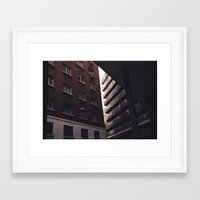 buildings Framed Art Prints featuring buildings by Murphy Mortician