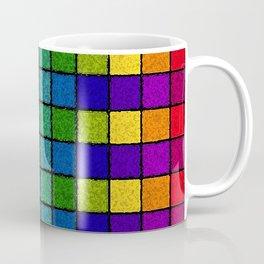 Sponged Chex Coffee Mug