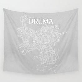 DRUMA Grey Wall Tapestry