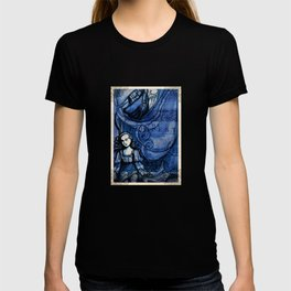 The Tempest - Miranda - Shakespeare Folio Illustration T-shirt