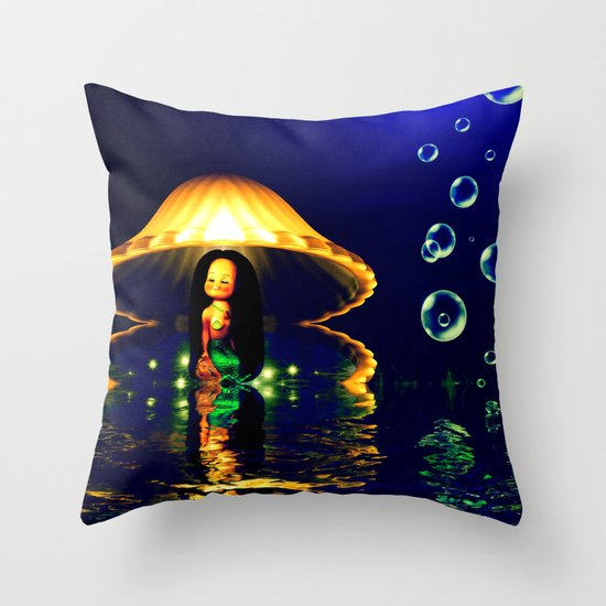 Close your eyes and create the magic Throw Pillow