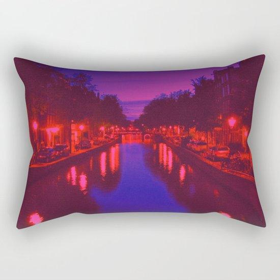 Psychedelic Amsterdam Rectangular Pillow