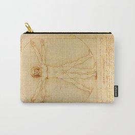 Leonardo da Vinci, Vitruvian Man Carry-All Pouch