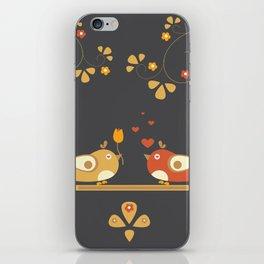 Love Bird Tree iPhone Skin
