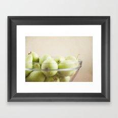 More pears Framed Art Print