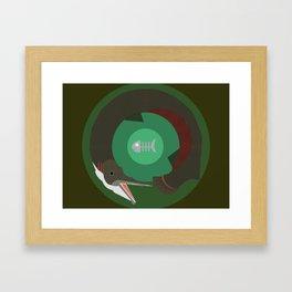 Alligator Gar Framed Art Print